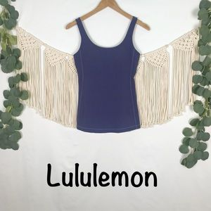 Lululemon | Periwinkle Blue Tank Top, Size Small